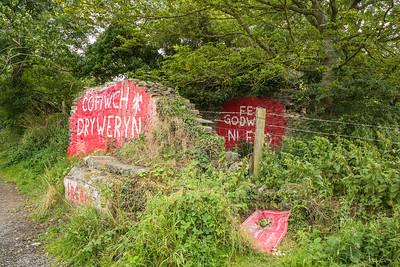 Cofiwch Dryweryn, Llanrhystud, Cymru - August 11, 2019