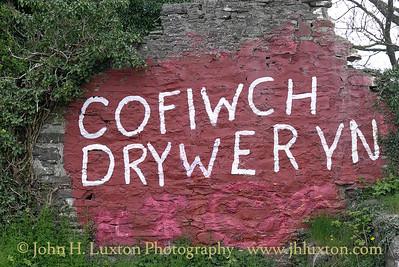 Cofiwch Dryweryn, Llanrhystud, Cymru