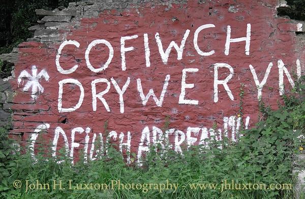 Cofiwch Dryweryn, Cofiwch Aberfan, Llanrhystud, Cymru - August 24, 2016