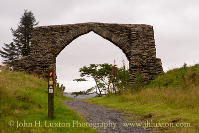 King George III Jubilee Arch, Hafod - August 14, 2017