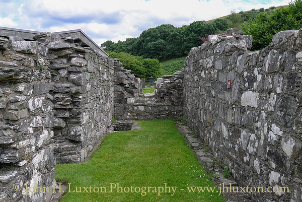 Strata Florida Abbey, Ceredigion - August 08, 2013