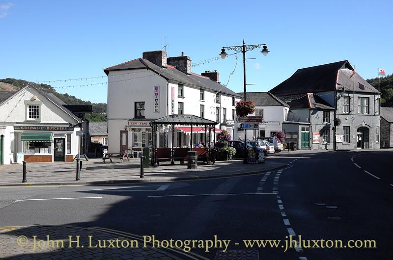 Corwen, Denbighshire, Wales - September 26, 2015