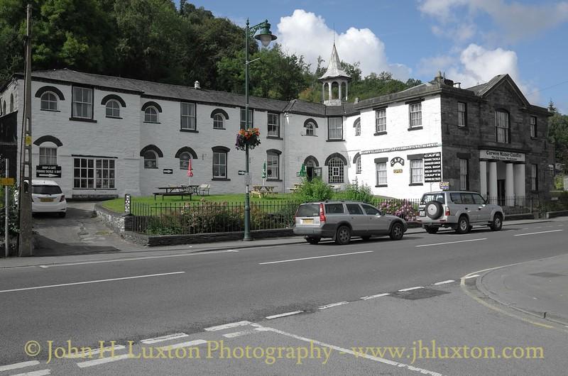 Corwen, Denbighshire, Wales - August 14, 2014