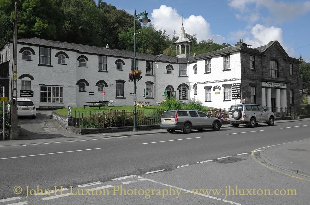 Corwen, Denighshire, Wales - August 14, 2014