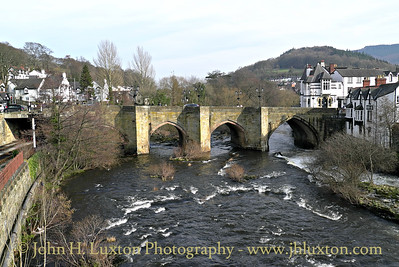 Llangollen & District, Clywd, Wales - 2014
