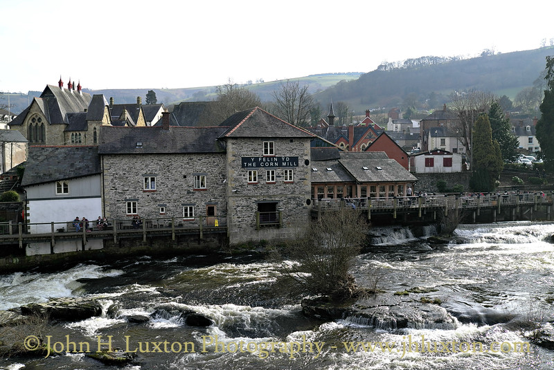 River Dee at Llangollen - March 08, 2014
