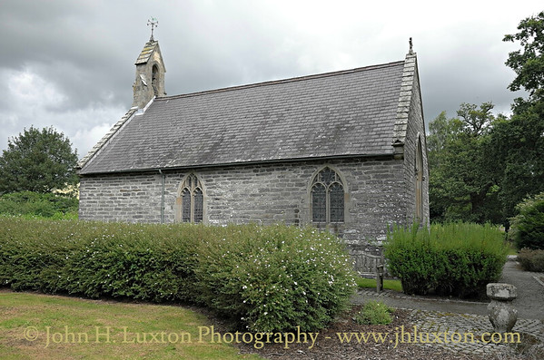 The Historic Rhug Chapel, Corwen, Denbighshire, Wales - August 14, 2014