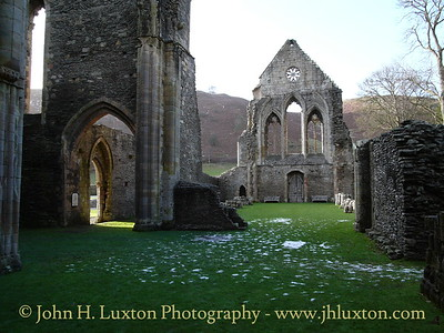 Valle Crucis Abbey, Llangollen - January 17, 2010