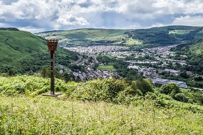 Penrhys Marian Shrine & Ffynnon Fair - St. Mary's Well, Rhondda, Glamorgan, Wales - July 12, 2021