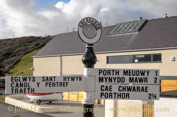 Aberdaron, Gwynedd, Wales - February 16, 2015