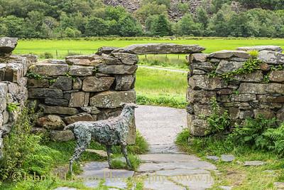 Beddgelert, Gwynedd, Wales - August 22, 2020