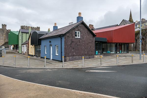 Caernarfon, Gwynedd, Wales - July 31, 2021