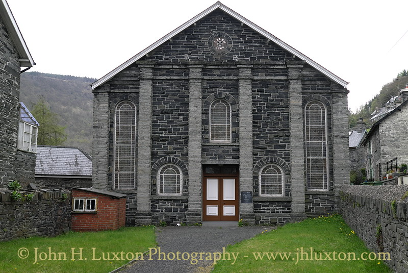 Corris Village, Gwynedd, May 05, 2013 Salem Chapel
