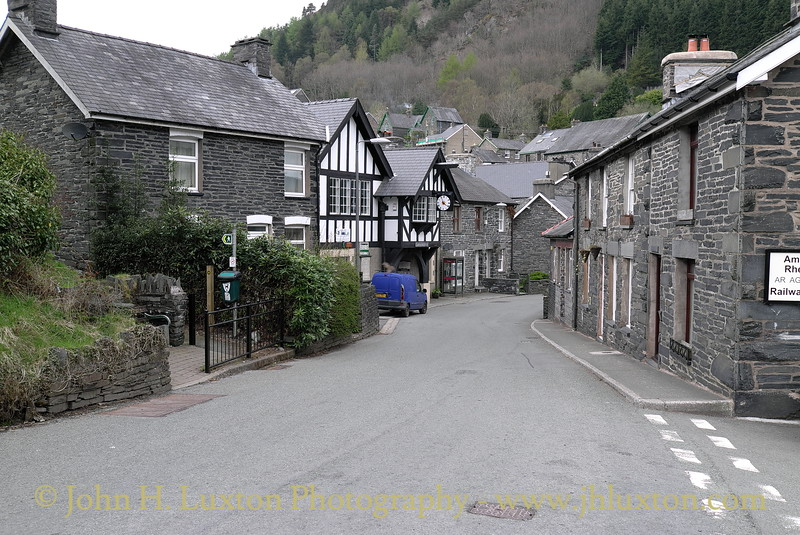 Corris Village, Gwynedd, May 05, 2013