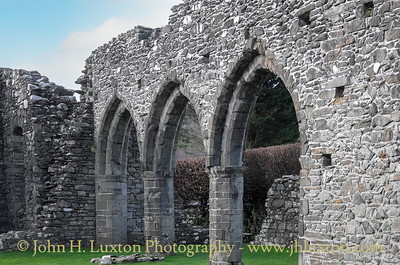 Cymer Abbey, Llanelltyd, Dolgellau, Gwynedd - February 14, 2016