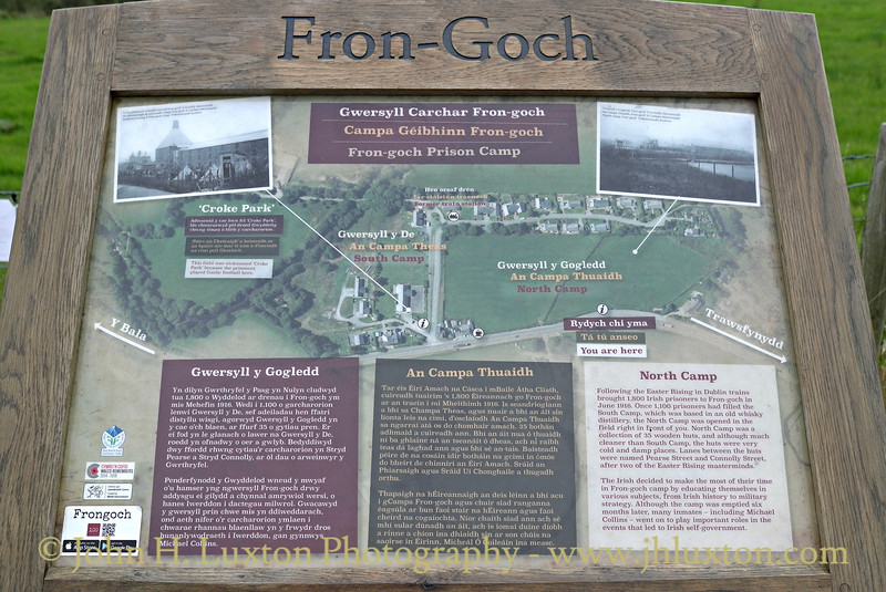 Frongoch Prison of War Camp Memorial - October 08, 2016