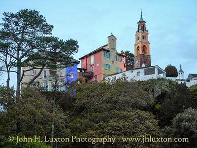 Portmeirion, Gwynedd, Wales - October 28, 2009