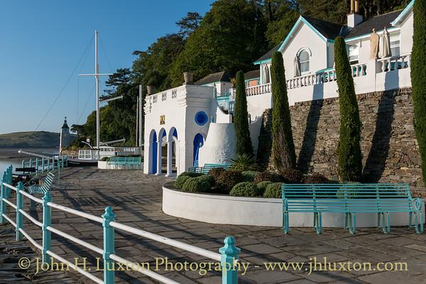 Portmeirion, Gwynedd, Wales - October 10, 2021