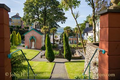 Portmeirion, Gwynedd, Wales - June 22, 2019