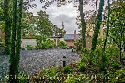 Portmeirion, Gwynedd, Wales - October 06, 2019