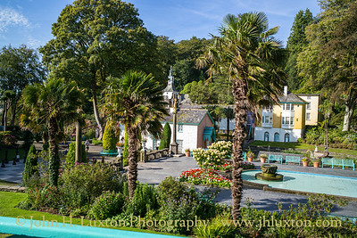 Portmeirion, Gwynedd, Wales - August 24, 2019