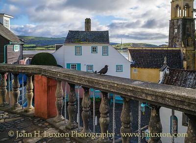 Portmeirion, Gwynedd, Wales - October 04, 2019