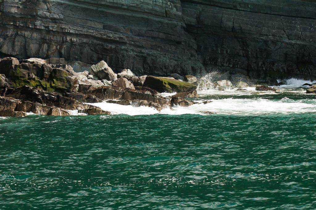 Lleyn cliffs from a boat trip