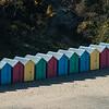 Beach huts on Llanbedrog beach