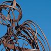 Iron man looking over Llanbedrog