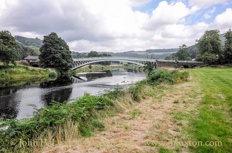 Bigsweir Bridge - River Wye - July 23, 2016