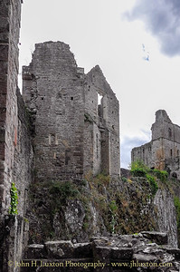 Chepstow Castle - Cas-Gwent - Monmouthshire - July 25 , 2016