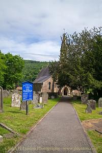 Llandogo, Monmouthshire, Wales - May 30, 2019
