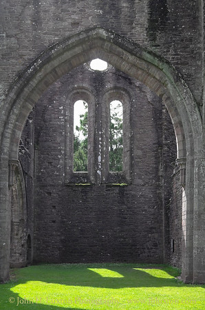 Llanthony Priory, Monmouthshire, Wales - August 26, 2015