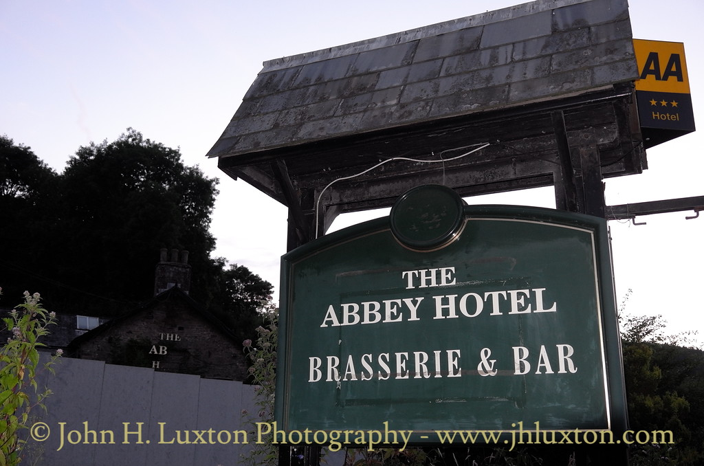 The Abbey / Beaufort Arms Hotel, Tintern - July 22, 2016