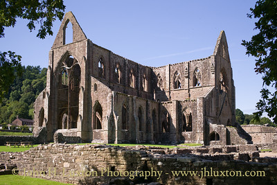 Tintern Abbey, Monmouthshire, August 27, 2017