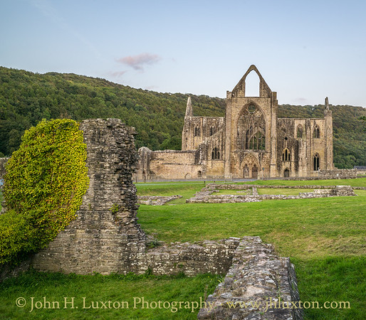 Tintern Abbey, Monmouthshire, September 20, 2020