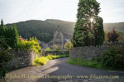 Tintern Abbey, Monmouthshire, September 12, 2020