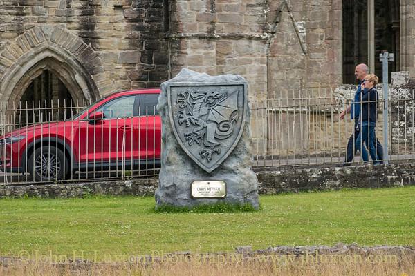 Tintern Abbey, Monmouthshire - July 13, 2021