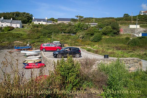 Abercastle, Pembrokeshire, Wales - August 15, 2019
