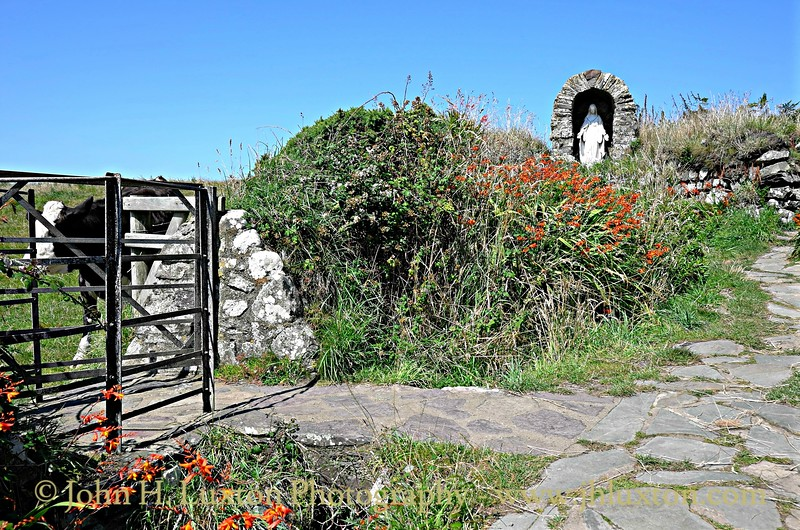 Chapel of St Non and Holy Well, Pembrokeshire - August 12, 2015