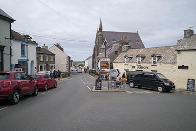 City of St Davids, Pembrokeshire - August 27, 2018