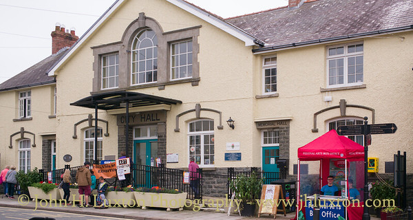 City of St Davids, Pembrokeshire - August 17, 2017