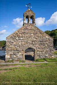 Cwm-yr-Eglwys, St. Brynach's Church, Pembrokeshire, August 15, 2019