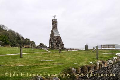 Cwm-yr-Eglwys, St. Brynach's Church, Pembrokeshire, April 12, 2014