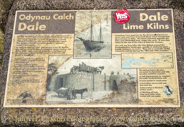 Dale, Pemrbrokeshire, Wales - August 14, 2019