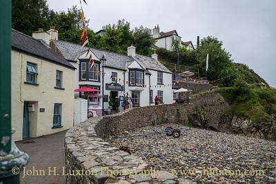 Little Haven, Pembrokeshire, Wales - August 14, 2019