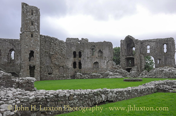 Llawhaden Castle, Llawhaden, Pembrokeshire - August 20, 2016