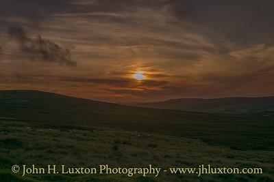 Preseli Hills Sunset - August 15, 2017