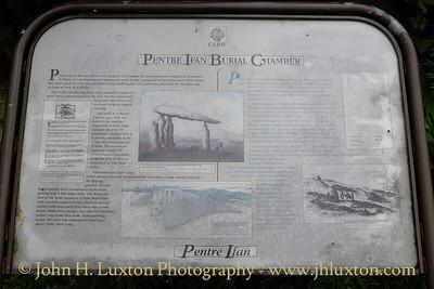 Pentre Ifan Burial Chamber, near Fishguard, Pemrokeshire - August 04, 2013