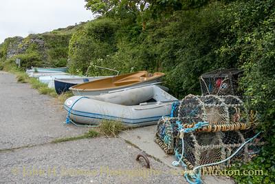 Porthclais Harbour, St David's, Wales - August 15, 2019